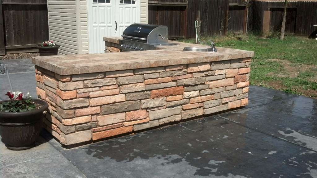 this is an image of stone masonry work in Sunnyvale